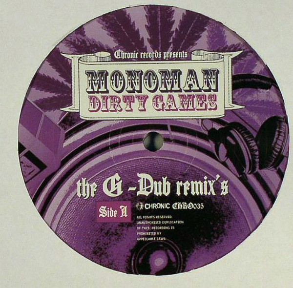 Dirty Games The G-Dub Remix's