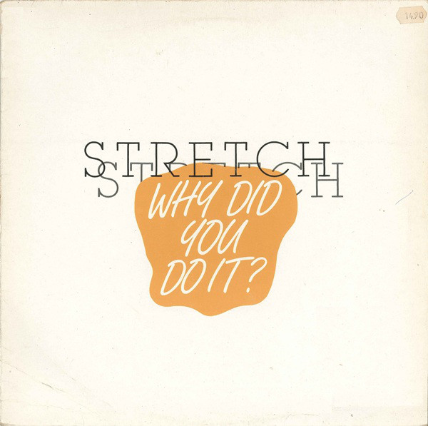 "Why Did You Do It? (Special Stretched 12"" Version)"