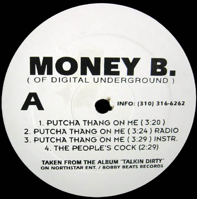 Putcha Thang On Me / The People's Cock / Eyez On A Mill Ticket