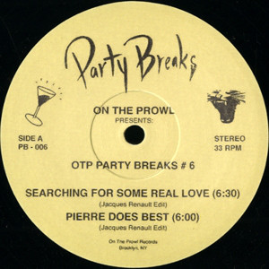 On The Prowl Presents: OTP Party Breaks # 6