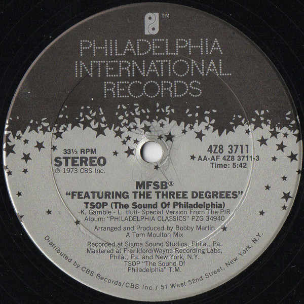 TSOP (The Sound Of Philadelphia) / Love Is The Message