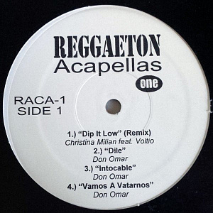 Reggaeton Acapellas One