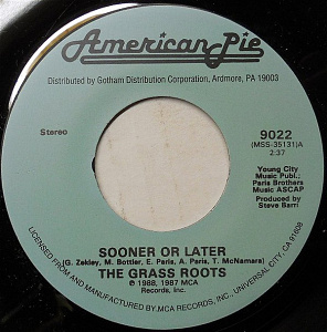 Sooner Or Later / I'm Easy